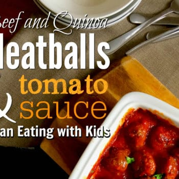 clean eating meatballs and tomato sauce