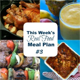 REAL FOOD MEAL PLAN #3