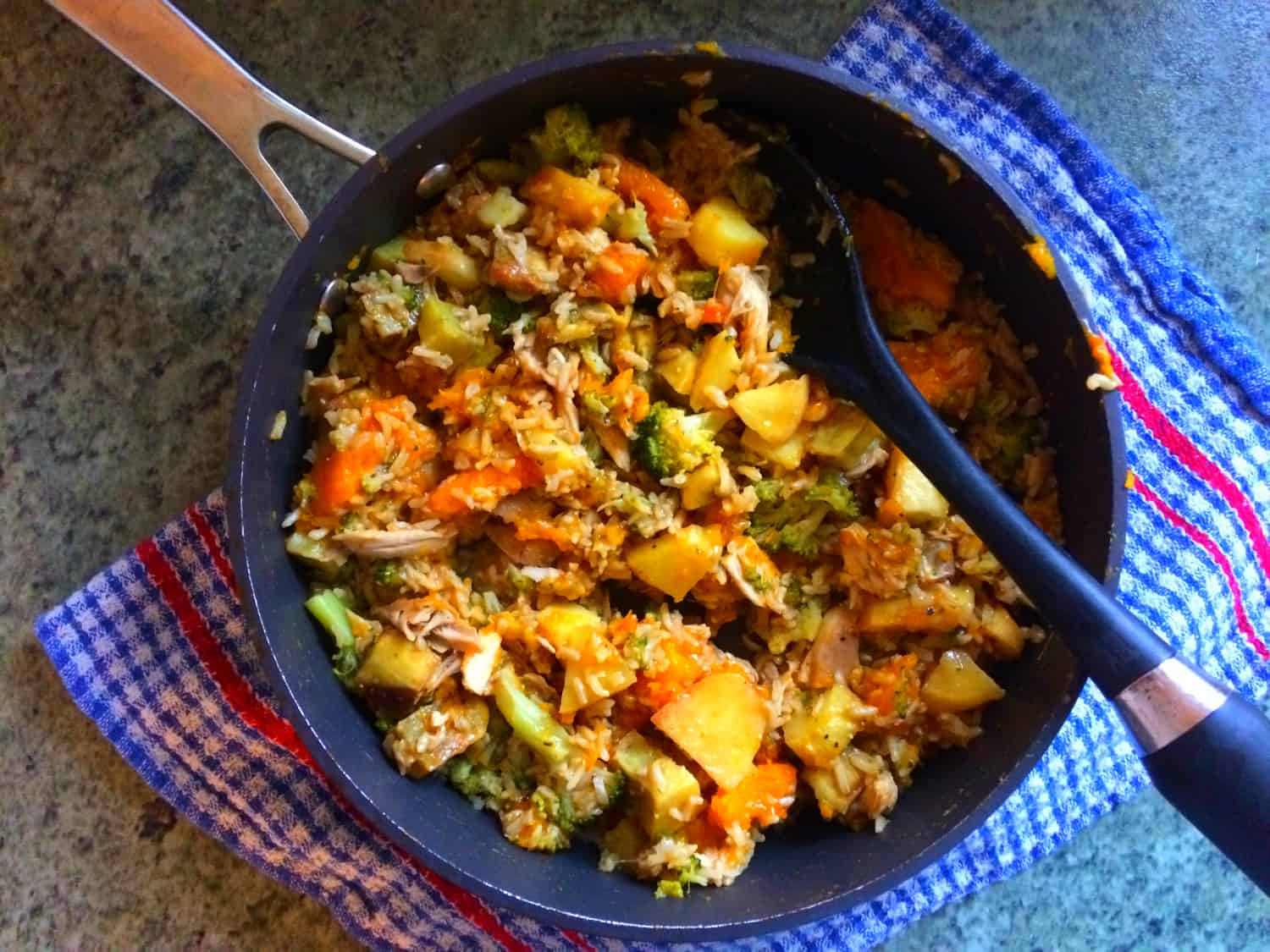 Bubble & Squeak (aka What to do with leftover Roast Chicken