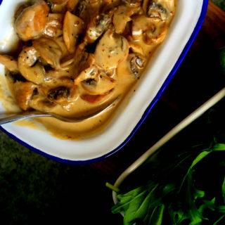 clean eating mushroom sauce