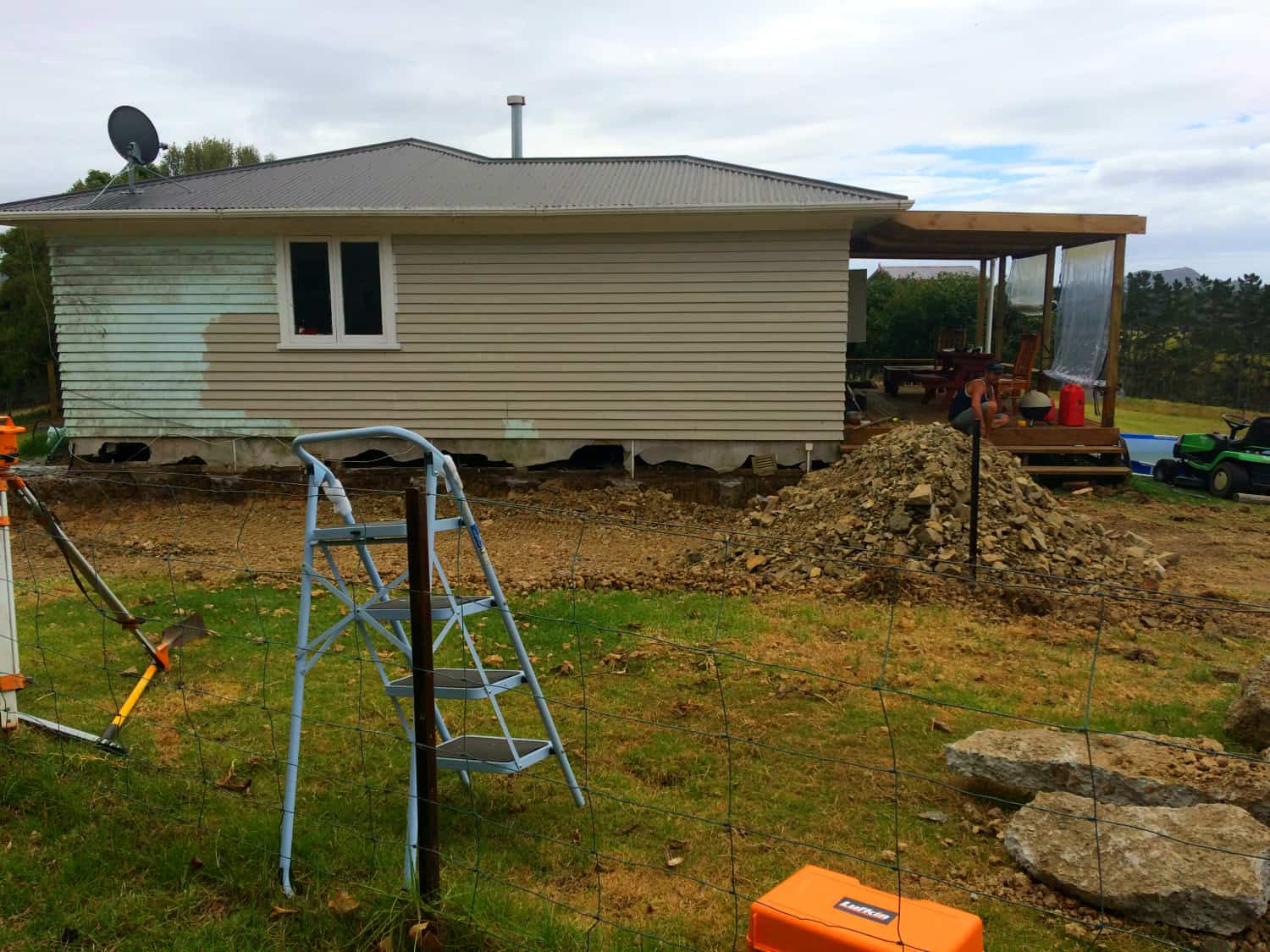 extension prepping