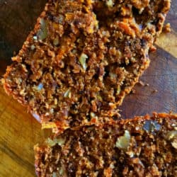 Easy Carrot & Walnut Loaf