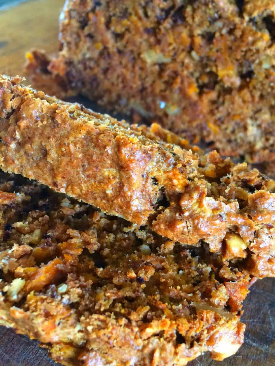 Carrot Walnut Cake Loaf