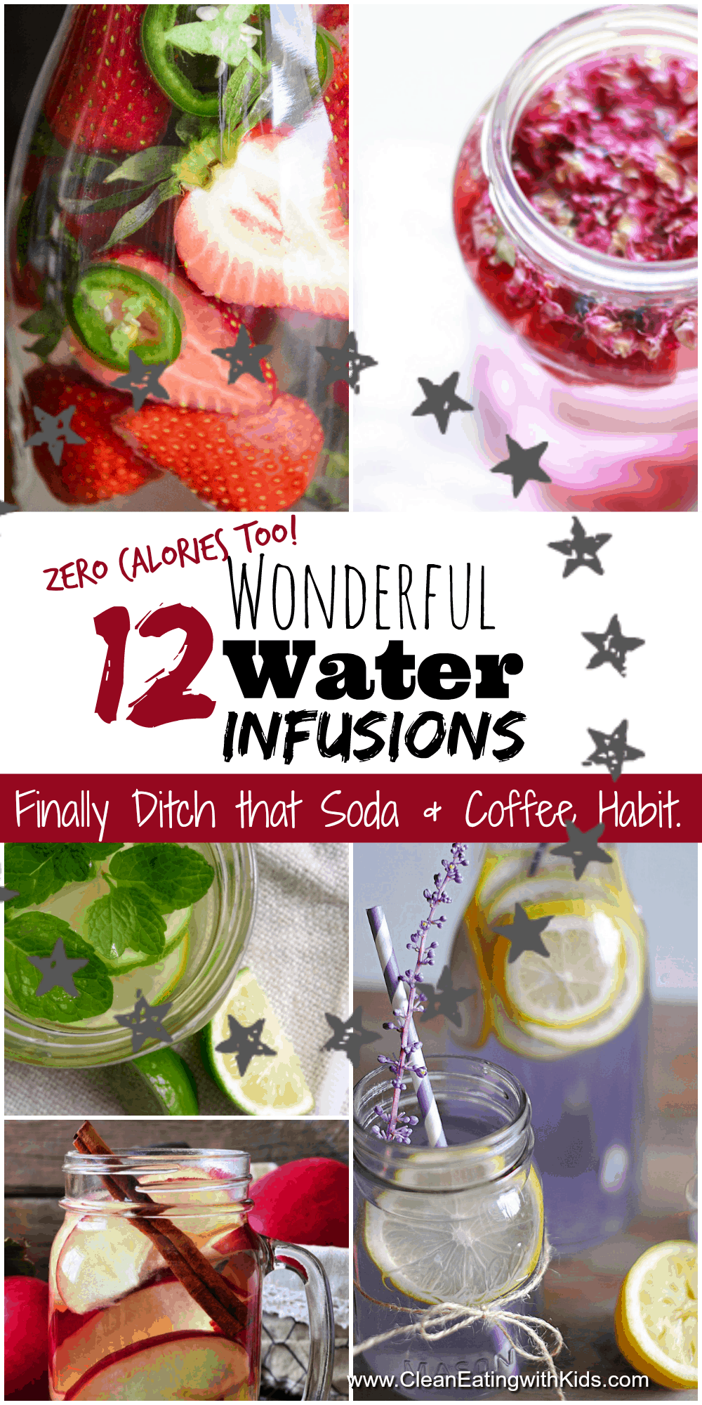 love these water infusion recipes. Real easy to make too.