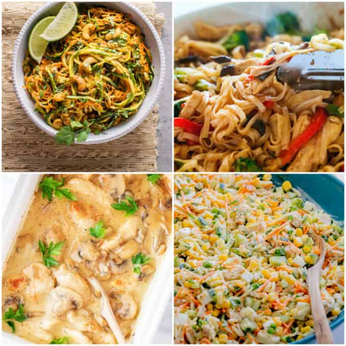 And another 4 clean eating easy weeknight dinner