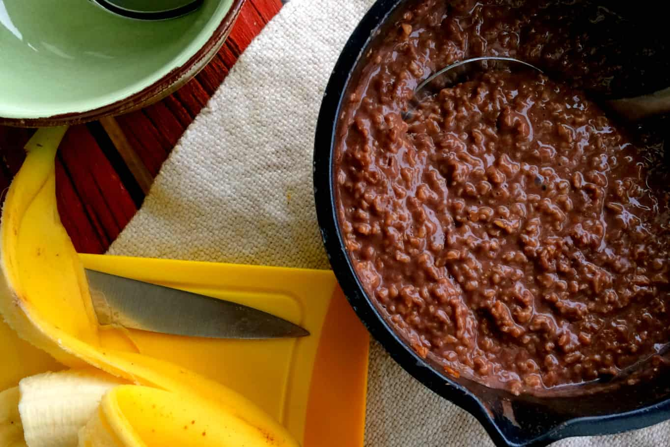 clean eating chocolate oats5