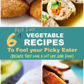 6 Best Vegetable Recipes to fool your Picky Eater (because they look a little like Junk Food)