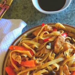 Clean Eating Sweet & Sticky Thai Noodles