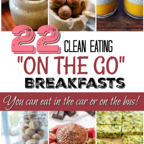 "22 Clean Eating ""School Run"" Breakfasts (that the Kids can eat in the car or on the bus)"