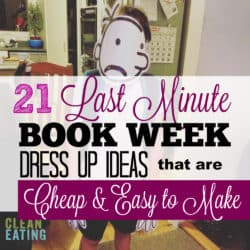 21 Last Minute DIY Book Week Dress Ups for Kids