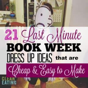 21 Last Minute DIY Book Week Dress Ups for Kids