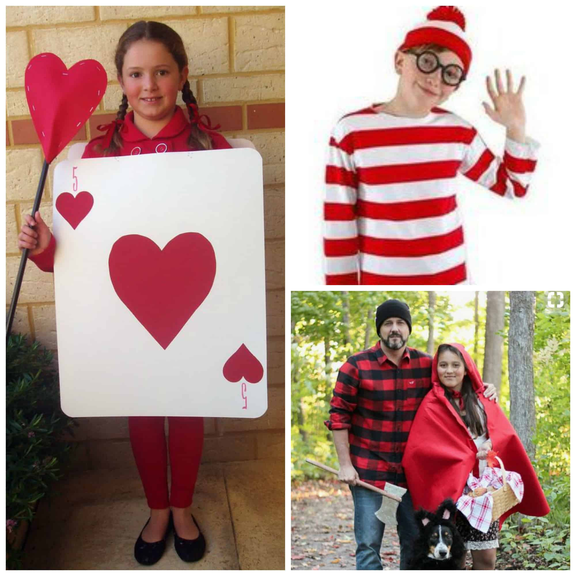 Super Easy DIY Book Week Costume Ideas (that you can pull together in a couple  sc 1 st  Clean Eating with kids & 21 Last Minute DIY Book Week Dress Ups for Kids - Clean Eating with kids