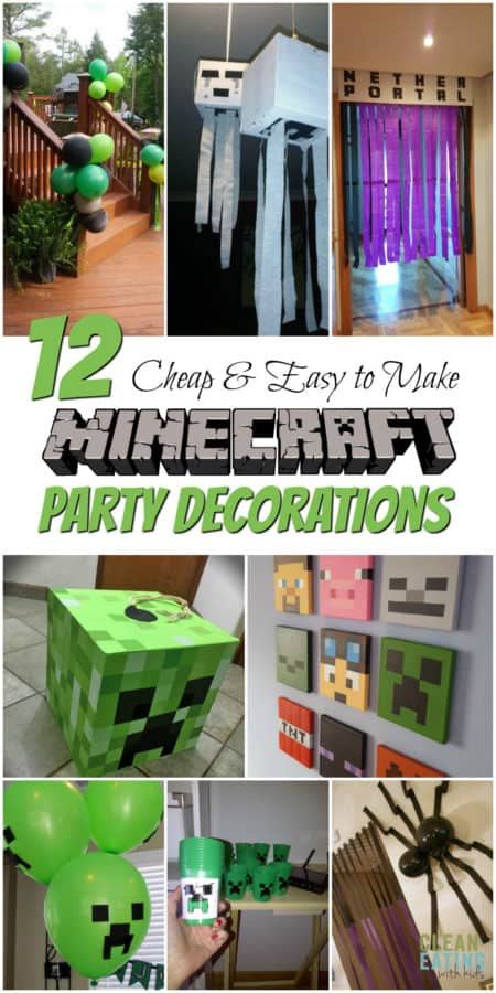 Step By Instructions On How To Host A Minecraft Birthday Party That Your Minecrafting