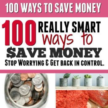 200+ Genius Ways To Save Money.