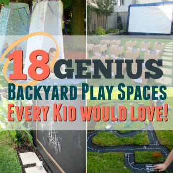 18 Amazing DIY Outdoor Play Spaces for Kids