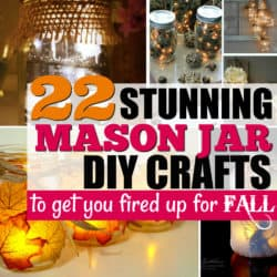 22 Mason Jar Crafts to Get You Fired Up for Fall.