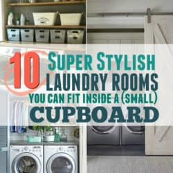 10 Small but Seriously Stylish Laundry Rooms that will Actually Make you want to do laundry
