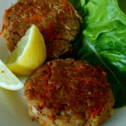 Clean Eating Amazing Tuna & Carrot Patties