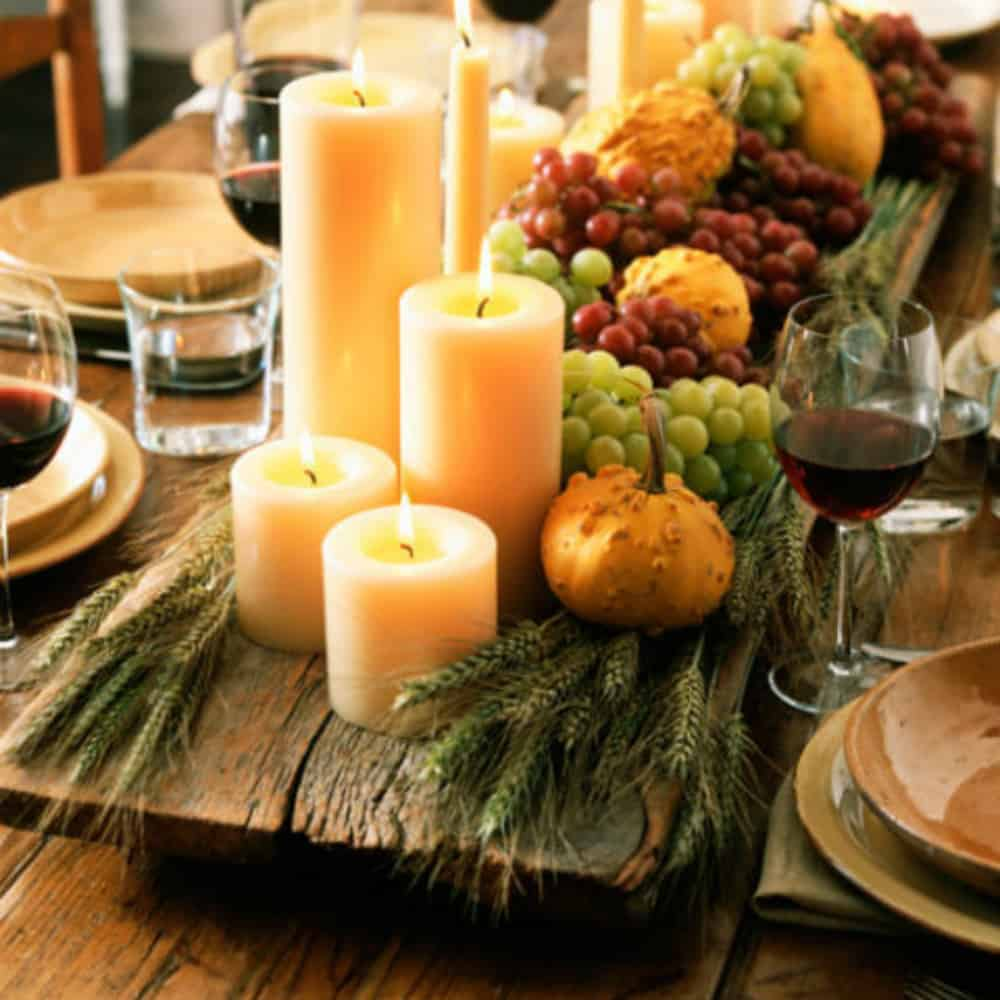 Vegetarian Menu Ideas For Dinner Party Part - 47: Dollar Store Ideas For Hosting The Perfect Fall Dinner Party (for Cheap!)
