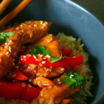 Clean Eating Honey, Soy & Sesame Chicken Stir Fry (Ready in 20 minutes)