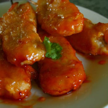 Clean Eating Sweet and Sour Orange Chicken Kebabs (A healthy version of the one from your favourite Chinese Takeaway). So so so Good!!!!