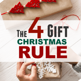 Christmas Gift Challenge: The 4 Gift Rule for Christmas