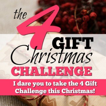 I Dare You to Take The 4 Gift Challenge this Christmas
