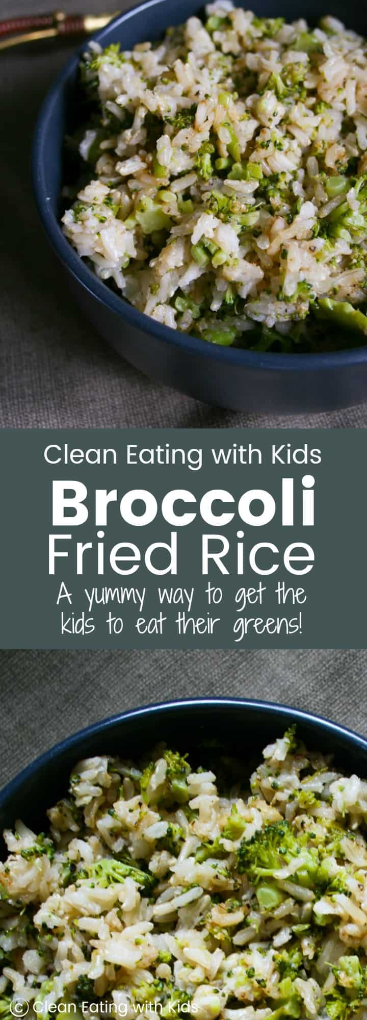 Okay, You have to try this! Seriously. Even my fussy kid ate a bowl full of this broccoli fried rice. Perfect with any meal or just on it's delicious own. #vegan #healthy #sugarfree #cleaneating #realfood