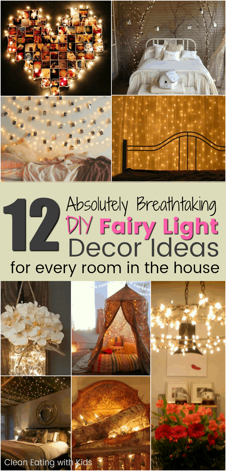 12 Cheap But Beautiful Diy Fairy Light Decor Ideas For Every Room In