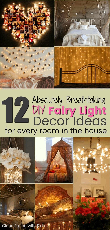 12 Beautiful Diy Fairy Light Decor Ideas