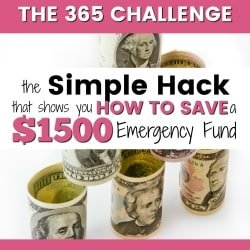 The Simple Hack to Save a $1500 Emergency Fund This Year