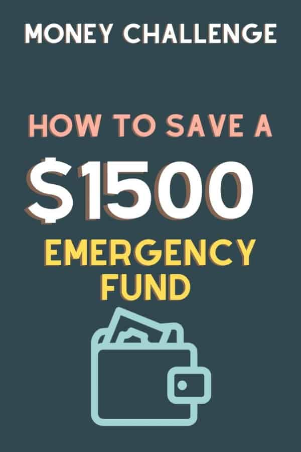 how to save an emergncy fund