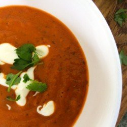 3 Ingredient Clean Eating Cream of Tomato Soup