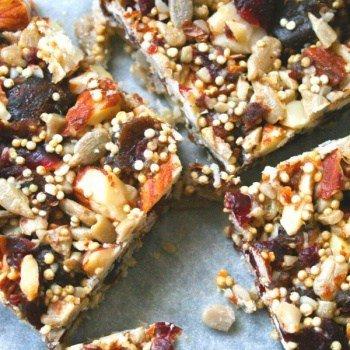 clean eating superfood energy bars - 7
