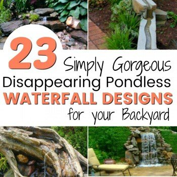23 Absolutely Gorgeous Pondless Disappearing Waterfalls for your Backyard