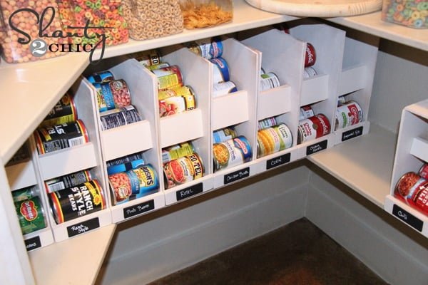 building a pantry cabinet storage ideas | 10 Brilliant Canned Food Storage Ideas - Clean Eating with ...