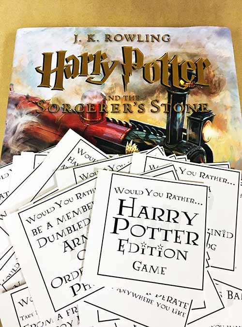 Host The Ultimatory Potter Birthday Party + {Free} Party Planning Binder you can use every year.
