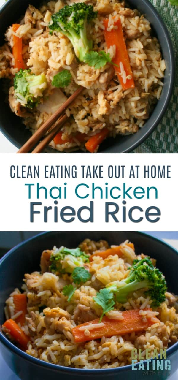 A Clean Eating Remake of this delicious Thai Recipe. An authentic recipe for Thai fried rice – just like you get at Thai restaurants!