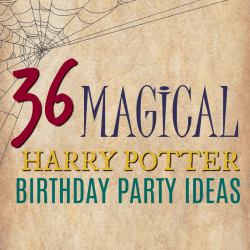 How to Host a Magical Harry Potter Birthday Party + {Free 8 Page Party Plan Printable)