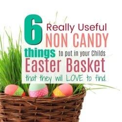 6 Fun & Useful Non Candy Easter Basket Ideas