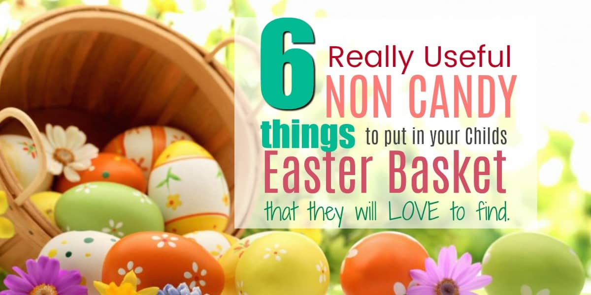 6 fun useful non candy easter basket ideas clean eating with kids negle Gallery