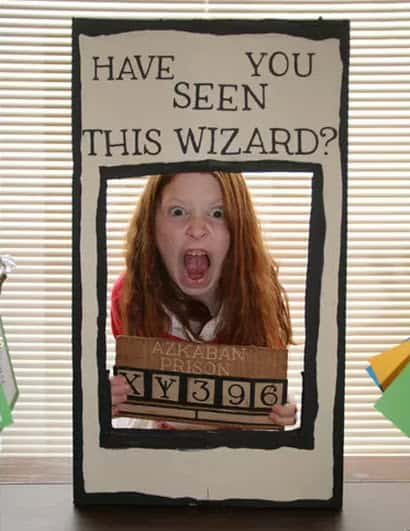 harry potter party photo props