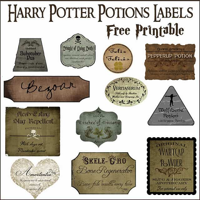 graphic about Harry Potter Decorations Printable identified as How towards Host a Magical Harry Potter Birthday Get together + Cost-free 8