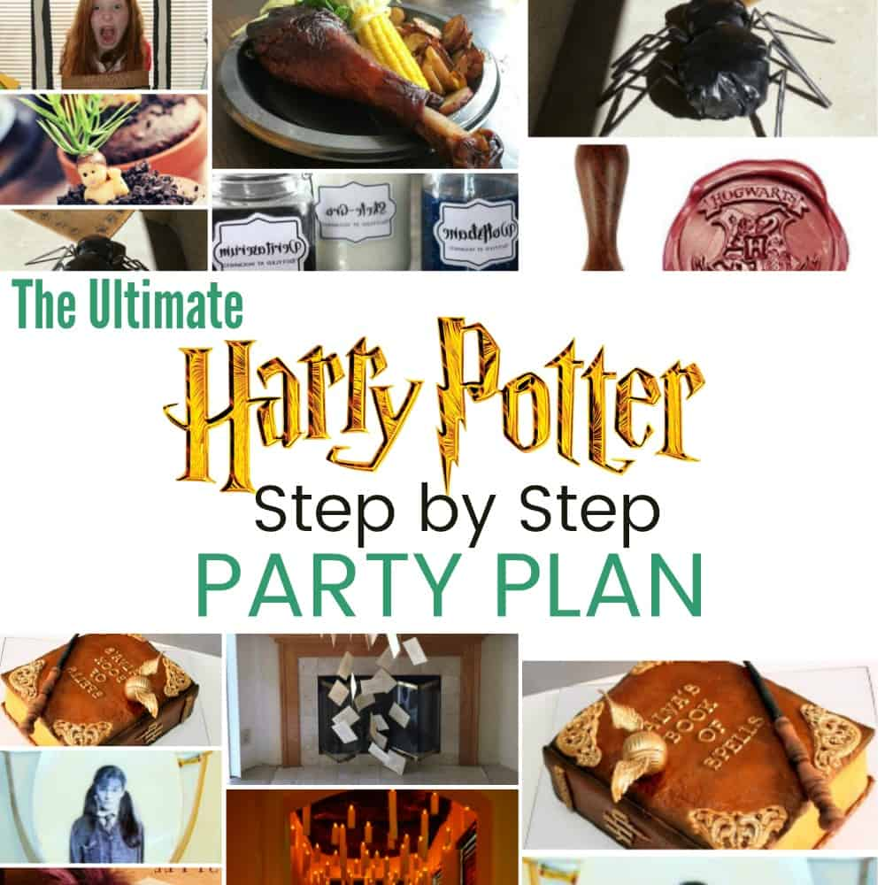 The Ultimate Step by Step Harry Potter Party Plan: 36 Cheap and Easy ...