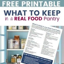 Real Food Ingredients That You Should Keep in the Pantry