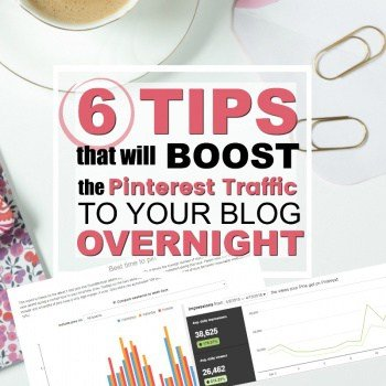6 Tips to Boost Pinterest Traffic to Your Blog Overnight