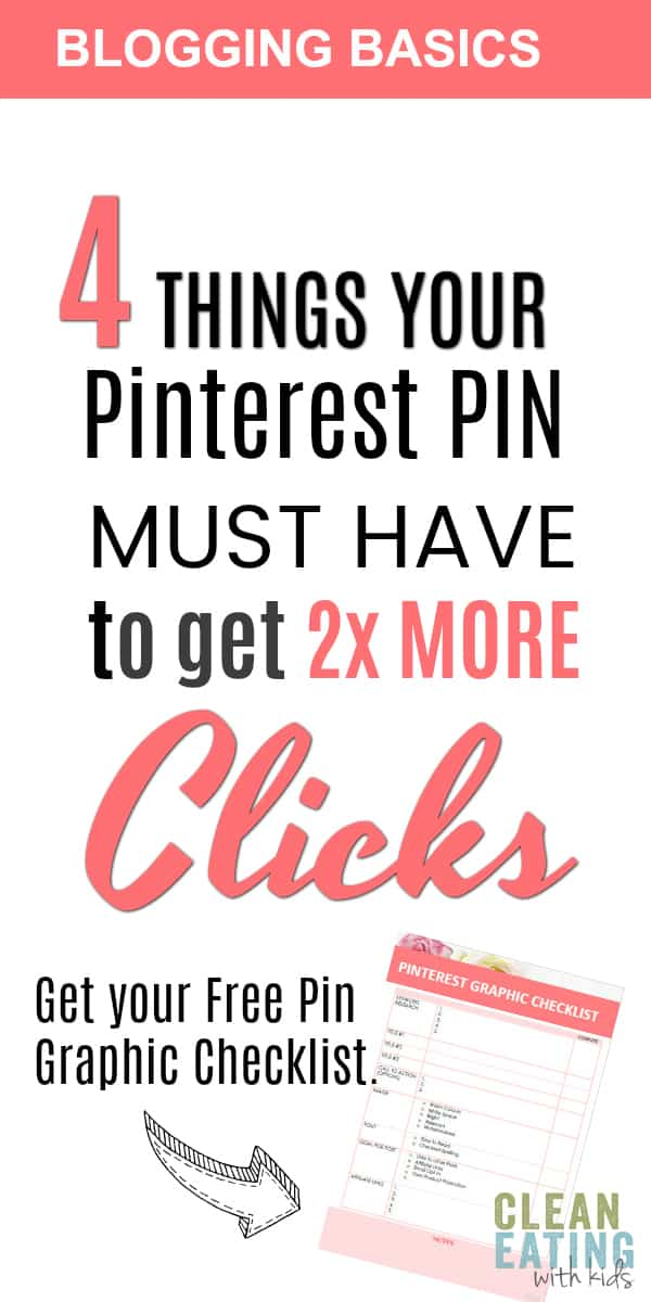 Are you a new blogger?  These are 4 easy Pinterest Pin Tips to double the traffic you get to your blog ....