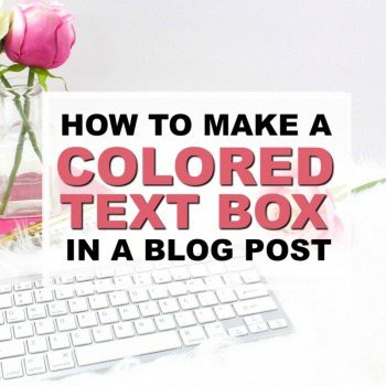 How to Add a Color Text Box in Your WordPress Blog