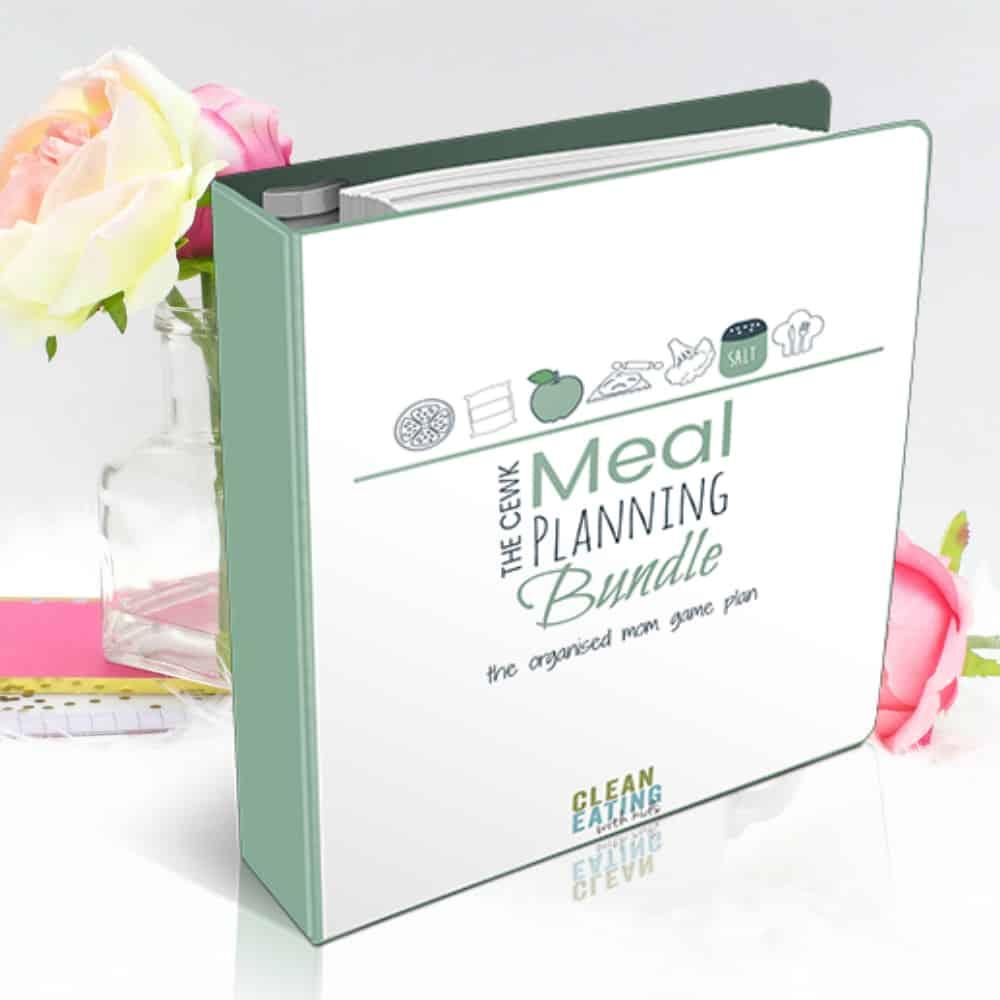 Recipe Binder Meal Planning System