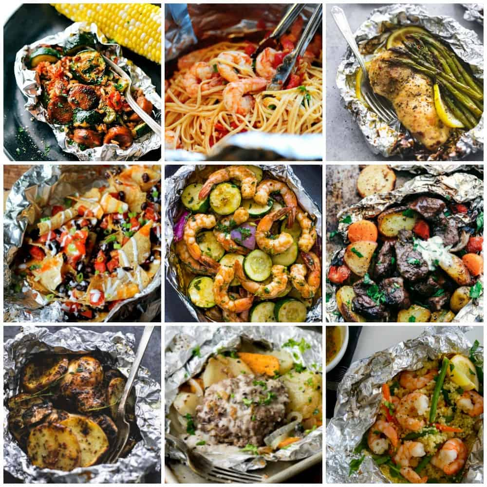 15 Brilliant foil parcel dinner ideas